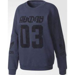 Bluzy damskie: Adidas Bluza damska Treofil Sweater granatowa r. 38 (BS4284)