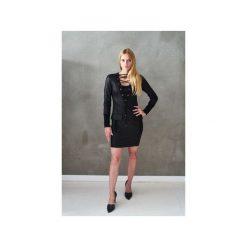 Sukienka Emira. Czarne sukienki balowe Element, l, z bawełny, z klasycznym kołnierzykiem, sportowe. Za 400,00 zł.