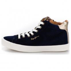 Pepe Jeans Damskie Tenisówki  Pls30768_Aw18 36 Ciemny Niebieski. Niebieskie trampki i tenisówki damskie Pepe Jeans, z jeansu. Za 366,00 zł.
