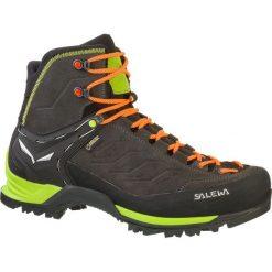 Buty trekkingowe męskie: Salewa Buty męskie MS MTN TRAINER MID GTX Black/Sulphur Spring r.42.5