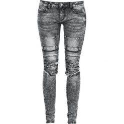 RED by EMP Megan Jeansy damskie czarny. Czarne jeansy damskie RED by EMP, z jeansu. Za 164,90 zł.