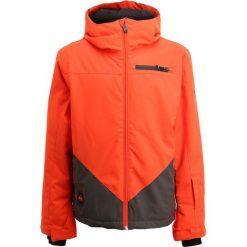 Quiksilver SUIT UP YOUTH Kurtka snowboardowa mandarin red. Brązowe kurtki chłopięce sportowe marki Reserved, l, z kapturem. W wyprzedaży za 349,30 zł.