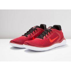 Nike Performance FREE RN 2018 Obuwie do biegania neutralne gym red/bright crimson/black/team red/white. Czerwone buty do biegania męskie Nike Performance, z materiału. Za 459,00 zł.