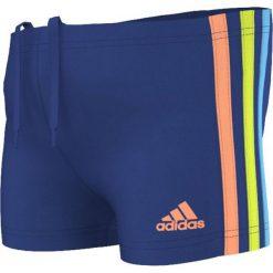 Kąpielówki męskie: Adidas Kąpielówki aididas 3S Inf Boxer S17917 S17917 niebieski 104 cm – S17917