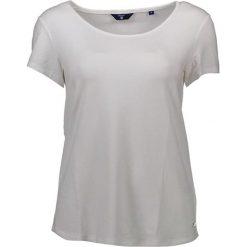 T-shirt w kolorze białym. Białe t-shirty męskie marki GANT, m, z okrągłym kołnierzem. W wyprzedaży za 169,95 zł.