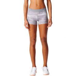Spodenki sportowe męskie: Adidas Spodenki Techfit Short Tight 3 inch Macro Heather szary r. M (BK2919)