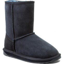 Buty EMU AUSTRALIA - Stinger Lo W10002 Midnight. Szare buty zimowe damskie marki EMU Australia, z gumy. Za 729,00 zł.