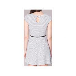 Sukienki krótkie Moony Mood  IKIMI. Białe sukienki mini marki Moony Mood, l, z krótkim rękawem. Za 143,20 zł.