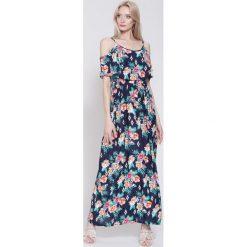 Sukienki: Granatowa Sukienka Wonderful Spring
