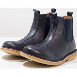 Bisgaard Botki blue. Niebieskie buty zimowe damskie Bisgaard, z materiału. W wyprzedaży za 272,35 zł.