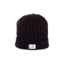 Czapki C.p. Company  MAC159A003321A. Czarne czapki zimowe męskie C.P. Company. Za 279,31 zł.