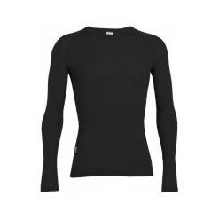 Odzież termoaktywna męska: Icebreaker Koszulka Mens Everyday Ls Crewe Black Xxl