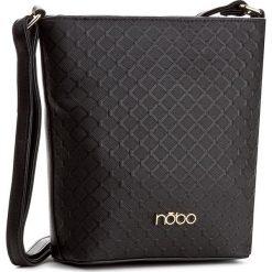 Torebka NOBO - NBAG-D1950-C020 Czarny. Czarne listonoszki damskie marki Nobo, ze skóry ekologicznej. W wyprzedaży za 119,00 zł.