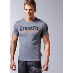 Koszulki do fitnessu męskie: Reebok Koszulka męska Crossfit Forging Elite Fitness Tee szara r. XXL (AJ3469)