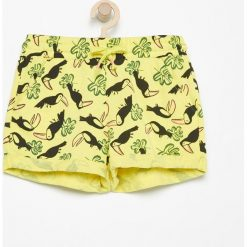 Krótkie spodenki dresowe - Żółty. Żółte spodenki dziewczęce Reserved, z dresówki. W wyprzedaży za 24,99 zł.