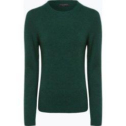 Franco Callegari - Damski sweter z wełny merino, zielony. Zielone swetry klasyczne damskie marki Franco Callegari, z napisami. Za 229,95 zł.