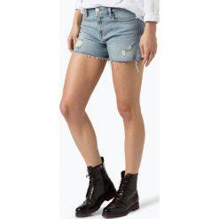 Calvin Klein Jeans - Damskie krótkie spodenki jeansowe, niebieski. Niebieskie szorty jeansowe damskie marki Calvin Klein Jeans. Za 229,95 zł.