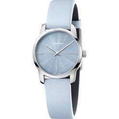 ZEGAREK CALVIN KLEIN CITY K2G231VN. Niebieskie zegarki męskie marki Calvin Klein, szklane. Za 739,00 zł.