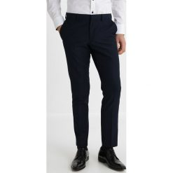 Burton Menswear London SKINNY Garnitur navy. Niebieskie garnitury Burton Menswear London, z materiału. Za 479,00 zł.