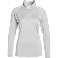 Puma CORERUN Koszulka sportowa light grey heather. Szare topy sportowe damskie marki Puma, xl, z elastanu, z długim rękawem. W wyprzedaży za 146,30 zł.
