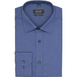 Koszula bexley 2445 długi rękaw custom fit granatowy. Niebieskie koszule męskie Recman, m, z długim rękawem. Za 149,00 zł.