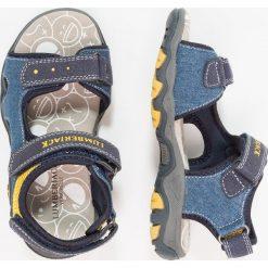 Lumberjack LEVI Sandały blue/yellow. Czarne sandały męskie skórzane marki Lumberjack. Za 169,00 zł.