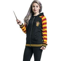 Bluzy rozpinane damskie: Harry Potter Gryffindor Bluza z kapturem rozpinana damska wielokolorowy