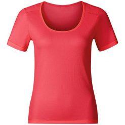 Odlo Koszulka tech. Odlo Shirt s/s crew neck CUBIC TREND - 140481 - 140481S. Szare topy sportowe damskie marki Odlo. Za 149,95 zł.