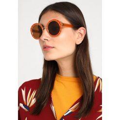 Tory Burch Okulary przeciwsłoneczne vintage orange/goldcoloured. Brązowe okulary przeciwsłoneczne damskie aviatory Tory Burch. Za 839,00 zł.