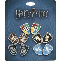 Kolczyki damskie: Harry Potter Houses Kolczyki – Earpin wielokolorowy