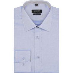 Koszula bexley 2613 długi rękaw slim fit niebieski. Szare koszule męskie slim marki Recman, na lato, l, w kratkę, button down, z krótkim rękawem. Za 149,00 zł.