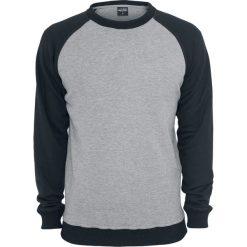 Urban Classics 2-Tone Raglan Crewneck Bluza szary/czarny. Niebieskie bluzy męskie marki Urban Classics, l, z okrągłym kołnierzem. Za 144,90 zł.