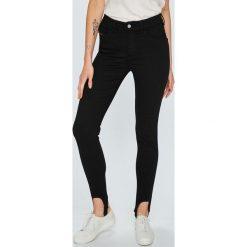 Diesel - Jeansy Slandy-Ski. Czarne jeansy damskie rurki marki Diesel, z bawełny. W wyprzedaży za 599,90 zł.