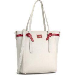 Torebka MONNARI - BAG0550-019 Grey With Red. Szare torebki klasyczne damskie Monnari, ze skóry ekologicznej, duże. W wyprzedaży za 149,00 zł.