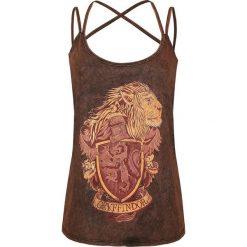 Topy damskie: Harry Potter Gryffindor Crest Top damski ciemnoczerwony