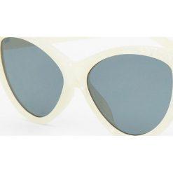 Okulary przeciwsłoneczne damskie aviatory: Okulary przeciwsłoneczne cat eye z efektem masy perłowej
