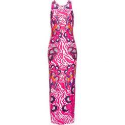 Sukienki: Sukienka w kolorowy deseń bonprix jasnoróżowy