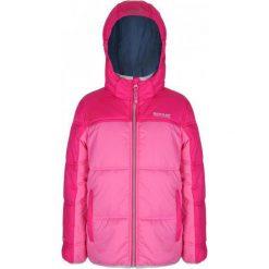 Regatta Kurtka Giant Pretty Pink/Jem 32. Różowe kurtki dziewczęce przeciwdeszczowe Regatta, na zimę. W wyprzedaży za 129,00 zł.