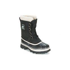 Śniegowce Sorel  CARIBOU. Czarne buty zimowe damskie Sorel. Za 699,99 zł.