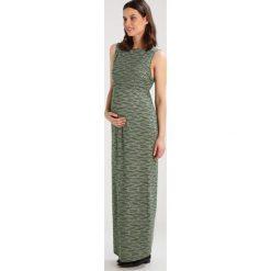 Długie sukienki: JoJo Maman Bébé Długa sukienka khaki/ecru