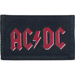 Portfele męskie: AC/DC Logo Portfel czarny