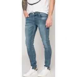 Diesel - Jeansy Sleenker. Szare jeansy męskie marki Diesel, z jeansu. W wyprzedaży za 539,90 zł.