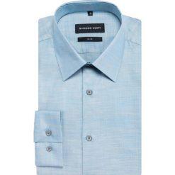 Koszula SIMONE KDNS000383. Białe koszule męskie na spinki marki bonprix, z klasycznym kołnierzykiem. Za 259,00 zł.