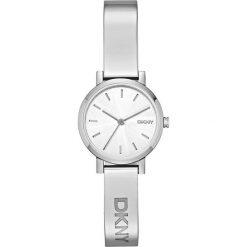 DKNY - Zegarek NY2306 Soho. Szare zegarki damskie DKNY, srebrne. Za 539,90 zł.