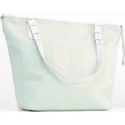 Mila Louise NINE CHEVRON  Torba na zakupy aqua. Zielone torebki klasyczne damskie Mila Louise. W wyprzedaży za 230,30 zł.