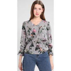 Bluzki asymetryczne: Soaked in Luxury KAROL BLOUSE Bluzka medium grey