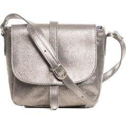 Torebki klasyczne damskie: Skórzana torebka w kolorze miedzianym – 24 x 20 x 9 cm