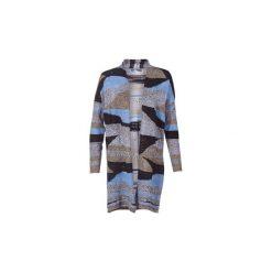 Swetry rozpinane / Kardigany Sisley  GOUZIGO. Czarne kardigany damskie marki Sisley, l. Za 383,20 zł.