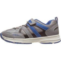 """Sneakersy """"Top Fly"""" w kolorze szarym. Niebieskie trampki chłopięce marki geox kids, z gumy. W wyprzedaży za 117,95 zł."""