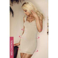 Mid-Wyszczplająca sukienka-szerokie ramiączka-6 720-MicroClima. Czarne sukienki marki Astratex, z mikrofibry, z dekoltem na plecach. Za 129,99 zł.